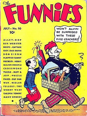 The Funnies Comics Golden Age Collection Pdf On Dvd