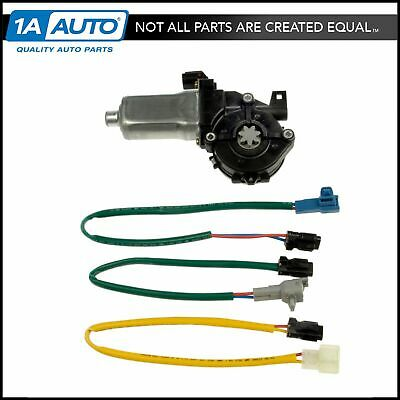 Drivers Power Front Window Lift Regulator with Motor Assembly Replacement for Toyota Geo 6982002051