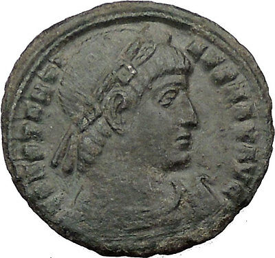 Constantine I The Great  334AD Ancient Roman Coin Legion Glory of Army i32423