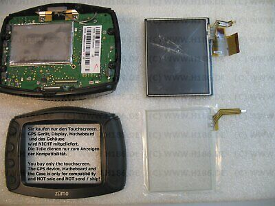Touch Screen passend Garmin ZUMO 400 450 500 550 Digitizer 79 x 65 Touchscreen