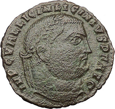 Licinius I Constantine The Great enemy 316AD Ancient Roman Coin Jupiter i32460