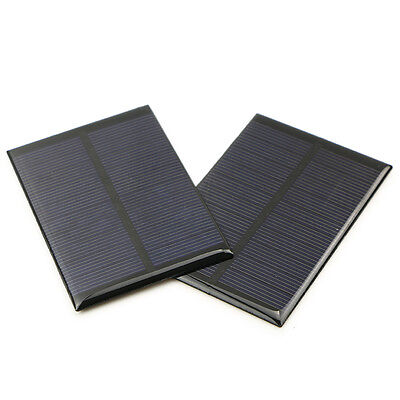 2x 5V 150mA 100x69mm Mini Solar Epoxy Panel Power Battery For LED DIY Charger