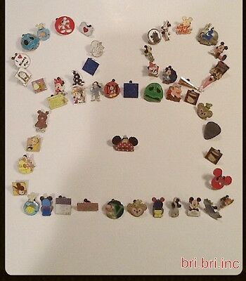 Disney Trading Pins LOT OF 50 BUY 50 GET 50  FREE-NO DOUBLES -FREE SHIPPING
