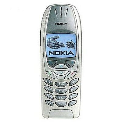 Nokia 6310i - Silver Cellular Phone Tri-band GSM Bluetooth T-mobile