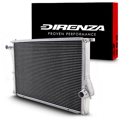 DIRENZA 42mm ALUMINIUM SPORT RACE RADIATOR RAD FOR BMW 5 SERIES E39 M5 4.9 95+