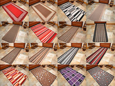 Heavy Duty Machine Washable Rubber Back Entrance Door Mat Small Large Non Slip