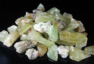 1lb Lot of Emerald Colored Green CALCITE Crystal Rough Gems Minerals Mexico