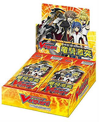ENGLISH Cardfight Vanguard BT09 Clash of the Knights Dragons Booster Box SEALED^