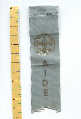 Old Convention Ribbon - A I D E - Light Blue