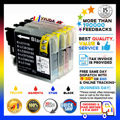 15x INK CARTRIDGE LC-67 BROTHER MFC-295CN DPC-6690W MFC-250C MFC290C MFC-295CN