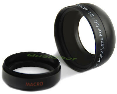 37mm WIDE .45X ANGLE LENS AF for Panasonic HDC-SD9,SX5 Camera