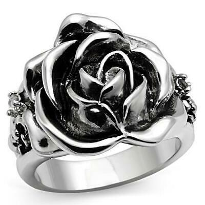 Beauty for Ashes Boutique® Rose of Sharon Classic Vintage Antique Cz Floral Ring
