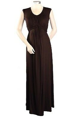 New JAPANESE WEEKEND MATERNITY Basket Weave NURSING MAXI Cocktail DRESS M 10/12