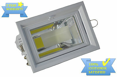 35W Recessed Led Shop Fitter Light Downlight Adjustable Office Ceiling Light