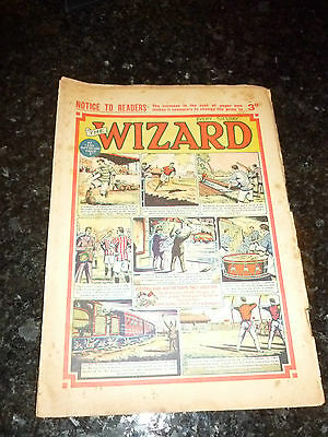 THE WIZARD Comic (1951) - No 1336 - Date 22/09/1951 - UK Paper Comic