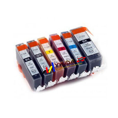 30 Ink Cartridge PGI525 CLI526 GREY CLI526GY to Canon PIXMA MG6150 MG6250 MG8150