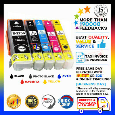 10x Compatible Ink Epson 273 273XL 2730XL-2734XL Expression Home XP600 700 800