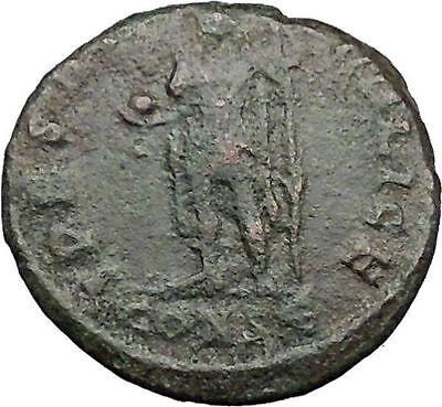 Julian II as Caesar w globe & spear 356AD Authentic Ancient Roman Coin i32790