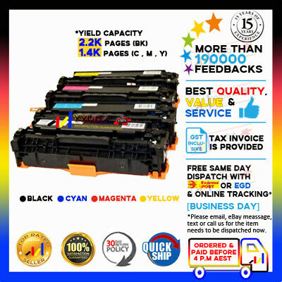 4 Compatible Toner Cartridge for Canon Laser Cart316 BK/C/M/Y LBP5050N LBP-5050N