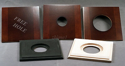 """1 LENS BOARD 132mm x 132mm for ANSCO 4x5"""", or 5x7"""" Camera- Solid Maple/undrilled"""