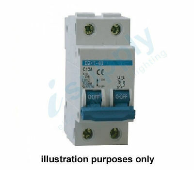 25A Circuit Breaker 2 Pole 6kA MCB
