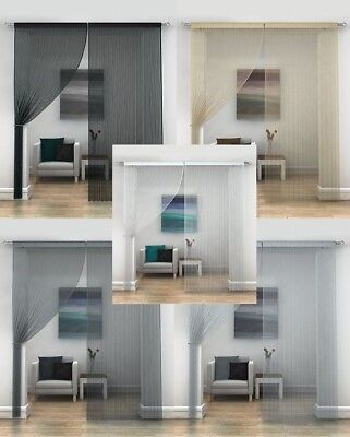 String Curtains 12 Great Colours,Add A Modern Touch To Any Room Great Value!!