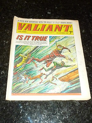 VALIANT Comic - Date 13/09/1969 - UK Fleetway Paper Comic