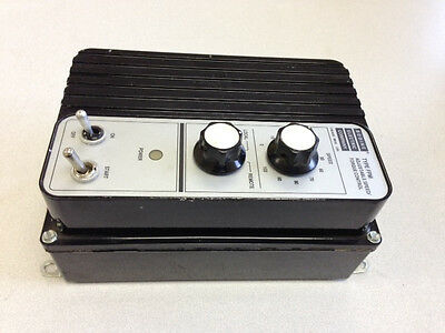 Refurbished Bodine Electric Company DC Motor Control, Model: 836