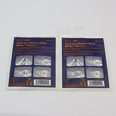Blister Cushion Plasters. Cushions and Accelerates Healing. Pack of 4 (2 x 2)