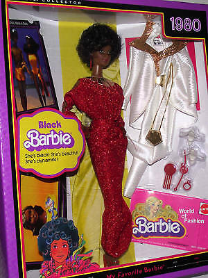 AA 30th Anniversary BLACK BARBIE 1980 REPRODUCTION  MIB 2009 NRFB CO.ED.