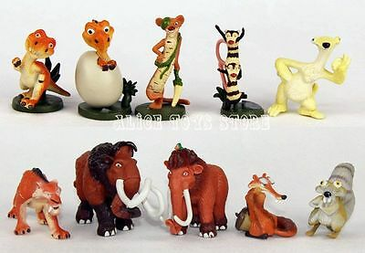 Iceage Ice Age Figure Toys 10pcs Lot American Manny Sid Diego Rare