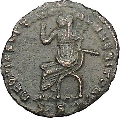 MAXIMIAN Posthumous under Constantine the Great  Ancient  Roman Coin i32854