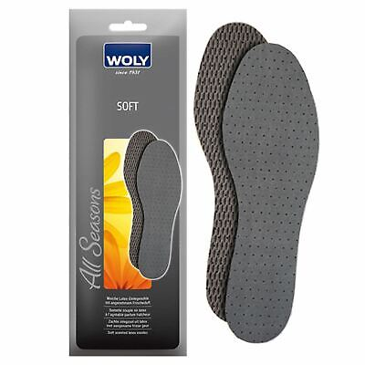 Woly Soft Shoe Insoles Adult & Child Sizes Available - Comfort Insoles