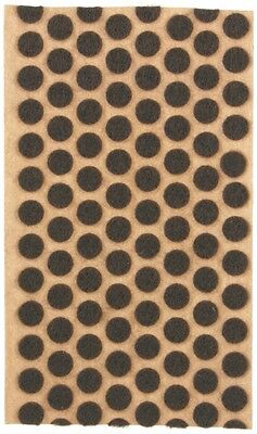 """3/8"""" Brown Felt Dots Surface Protector Pad Trophy Cabinet Furniture Crafts 1000+"""