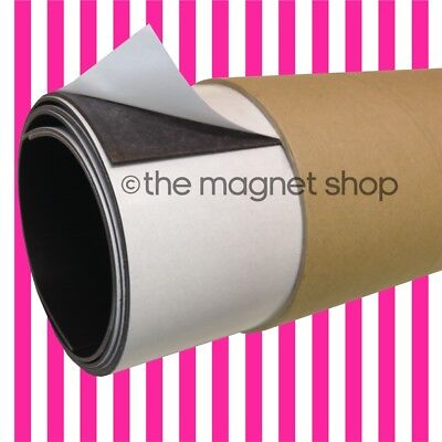 Large Self-Adhesive Magnetic Sheet 1.5mm Extra Thick Strong Flexible Roll Magnet