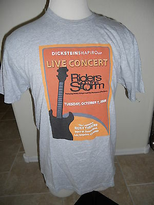 The Doors Riders On The Storm Private Concert Roxy Theatre 2008 T-Shirt Mens L