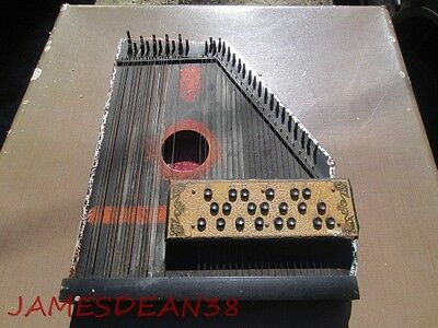 American Mandolin Harp Zither United States Music Co Autoharp 1894