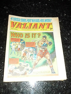 VALIANT Comic - Date 30/05/1970 - UK Fleetway Paper Comic