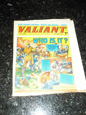 VALIANT Comic - Date 29/08/1970 - UK Fleetway Paper Comic