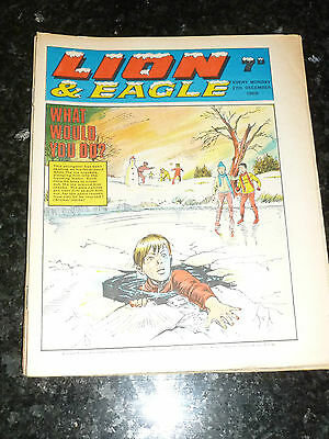 LION & EAGLE Comic (1969) - Date 27/12/1969 - UK Paper Comic