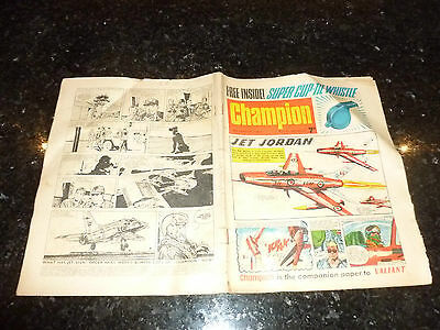 CHAMPION Comic (1966) - Date 05/03/1966 - UK Paper Comic