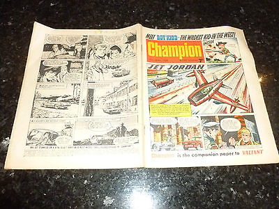 CHAMPION Comic (1966) - Date 30/04/1966 - UK Paper Comic