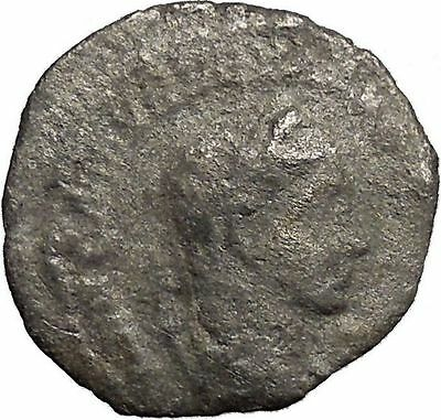 Severus Alexander 223AD Silver Ancient Roman Coin PAX Peace Goddess  i32966