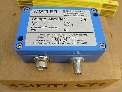 Kistler 5039A  Charge Amplifier  Industrie- Ladungsverstärker