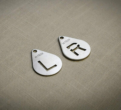 X-Ray Marker (L and R), AP or PA use, Permium Quality Laser Cut Stainless Steel