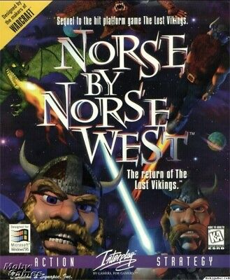 NORSE BY NORSEWEST LOST VIKINGS PC GAME +1Clk Windows 10 8 7 Vista XP Install
