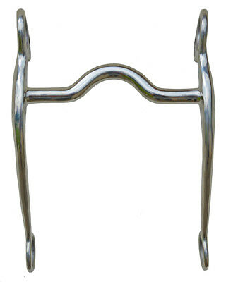 """STAINLESS STEEL CURB BIT 5"""" mouth #25535"""