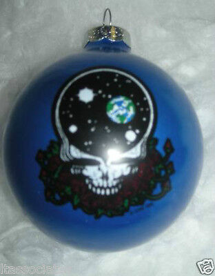 Grateful Dead Space Your Face  Limited Edition Ornament ~~New~~ 1996 Blue