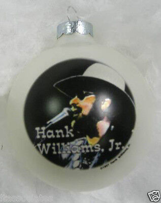 HANK WILLIAMS, JR. LIMITED EDITION COLLECTIBLE ORNAMENT 1997 New