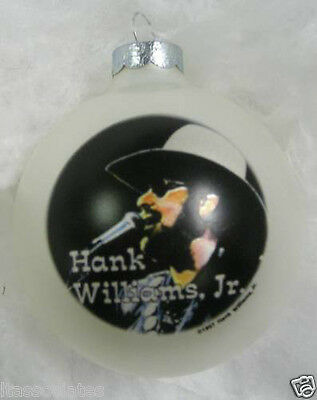 Hank Williams, Jr. Limited Edition Collectible Ornament ~~~New~~~ 1997
